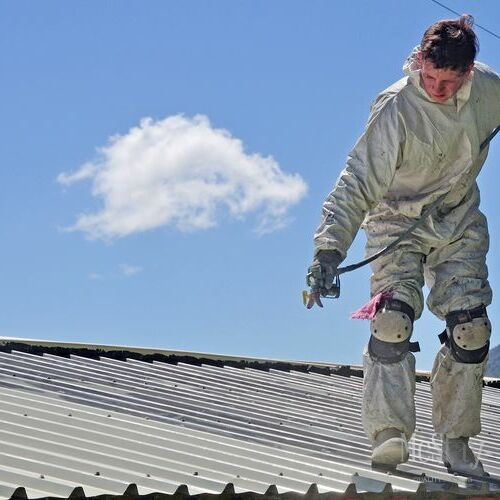 Roof restoration is an alternative to roof replacement.