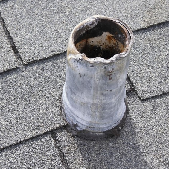 vent with flashing