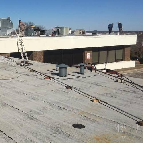 Single-ply roofs are great for any commercial roofing project.